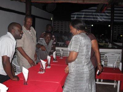 Timu nzima ya BBC Swahili.